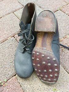 Deutsche Wehrmacht Schnür- Schuhe, komplett mit Benagelung, 100% Original