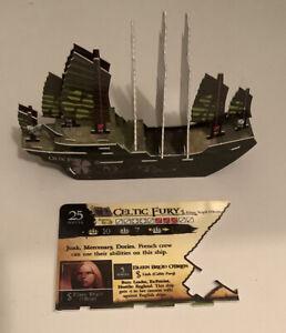Wizkids Pirates CSG Celtic Fury 10 Mast Junk