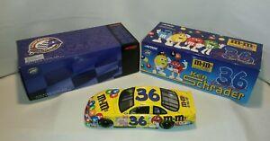 ☆ NEW KEN SCHRADER # 36 ACTION DIECAST BANK 1:24 NASCAR M & M'S 2000 GRAND PRIX