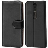 Book Case für Nokia 4.2 Hülle Tasche Flip Cover Handy Schutz Hülle Handyhülle