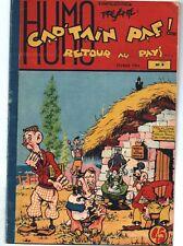 CAP'TAIN PAF n°9 Editions SER Mouchot 1954. Bel état (réf. RC30)