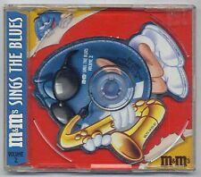 M&M's Sings the Blues vol. 2 Fats Domino Percy Sledge - die cut CD single a191