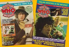 Doctor Who Weekly #2-43. Choose yours! 1979-80. GOOD PRICE at £4.95 each!