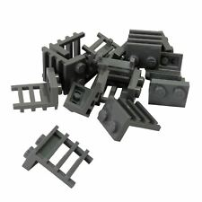 15 NEW LEGO Plate, Modified 1 x 2 with Ladder Dark Bluish Gray