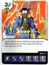 Green Arrow Flash STATIC The Big Bang #75 DC Dice Masters card