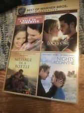 Nicholas Sparks Film Collection 4 Film Favorites Lucky One DVD Romance