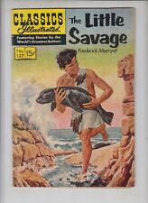 "CLASSICS ILLUSTRATED #137  Gilberton 1957 ""The Little Savage""  Frederick Marryat"
