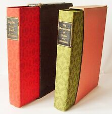STENDHAL Folio Society 2 vols Scarlet and Black Charterhouse of Parma VGC boxes