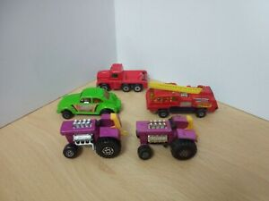 Y517-MATCHBOX SUPERFAST LOT OF FIVE VEHICLES