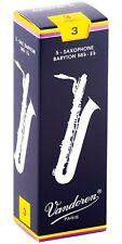 Vandoren Baritone Saxophone Reeds Strength 3 Box of 5