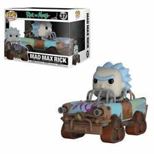 Funko ¡ pop vinilo Rides Rick & Morty Mad Max figura modelo coleccionable N º