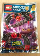 LEGO FIGURINE POLYBAG LIMITED MINIFIGURE NEXO KNIGHTS SPIDER ROBOT LES ARAIGNEES
