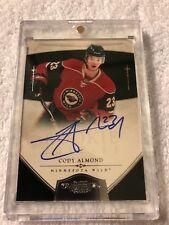 10/11 Dominion Rookie Auto Cody Almond Hockey Card #187 83/199