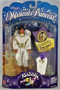 "NEW VtG 1994 Disney Princess Musical Mattel ALADDIN 6"" Doll Prince Figure *RARE*"