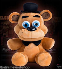 "FNAF FIVE NIGHTS AT FREDDYS EXTRA LARGE 12"" (30cm) FREDDY BEAR SOFT PLUSH TOY"