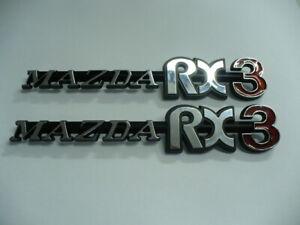 Mazda RX3 Quarter Badge (Pair)