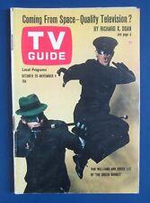 TV Guide 1966 #709 THE GREEN HORNET Bruce Lee Kato Van Williams