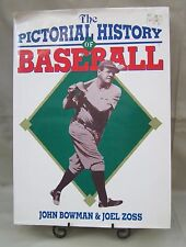 """""""The Pictorial History of Baseball"""" Babe Ruth on Cover Early Years to 1960 L@@K!"""