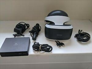 Sony Playstation VR PS4 Virtual Reality Headset Bundle