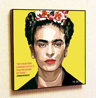 Frida Kahlo Painting Decor Print Wall Art Poster Pop Canvas