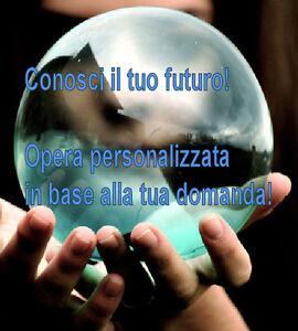 CONOSCI IL TUO FUTURO! OPERA PERSONALIZZATA X OGNI UTENTE EBOOK CD + CRISTALLO