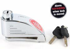 BEST Disk Brake Alarm Wheel Lock Anti-theft Motorcycle Bike Scooter Troller