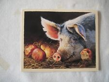 "NEW - GWS Artist Bonnie Marris Deluxe Note Cards image ""Lady Marmalade's.."" PIGS"