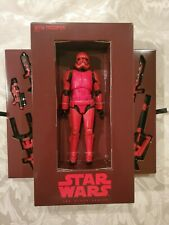 SDCC Exclusive Hasbro Star Wars Black Series Sith Trooper Figure 2019!