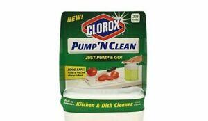 Pump N Clean Kitchen & Dish Cleaner Crisp Citrus Food Safe 12 oz