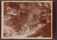 YZ0459 Italia - Militari in luogo da identificare - Foto d'epoca - Old photo