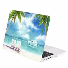 "Beach Day Graphic Rubberized Hard Case for Macbook Pro 13"" w/ Retina A1425/A1502"