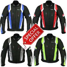 RKSports 1509 MENS Waterproof Textile Motorbike Motorcycle Armoured Jacket