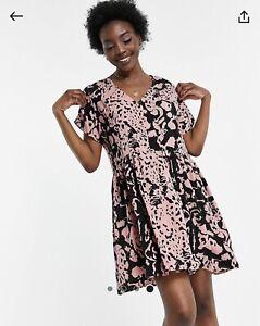 ASOS Urban Threads Tall Oversized Smock Dress Size 14