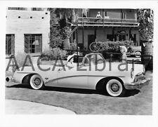 1954 Buick Model 76 Skylark Convertible Coupe, Factory Photo (Ref. # 28466)