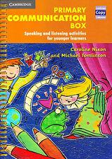 CAMBRIDGE COPY COLL Primary Communication Box SPEAKING LISTENING Activities NEW