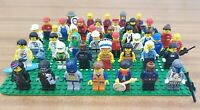 Lego Minifigures Bundle of 42 Figures - All Genuine Lego Job Lot Minifigs Mixed