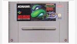 Teenage Mutant Ninja Turtles Tournament Frighteners For SNES (EUR/PAL Version)