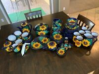 Mexican Dinnerware Set Made In Guadalajara - For 6