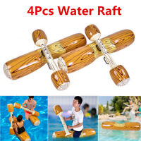 4Pcs/set Water Inflatable Bumper Game Swimming Pool Beach Float Ride-On Row Toy