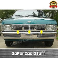 FOR NISSAN 1995 1996 1997 PICKUP TRUCK HARDBODY UPPER BILLET GRILLE GRILL INSERT