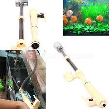 Fish Tank Clean Aquarium Gravel Battery Vacuum Siphon Cleaner Pump Water Filter