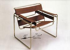 Double-carte: Marcel Breuer: fauteuil b3-Wassily