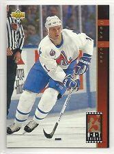 1993-94 Upper Deck Hockey - Hat Tricks - #HT15 - Owen Nolan - Nordiques