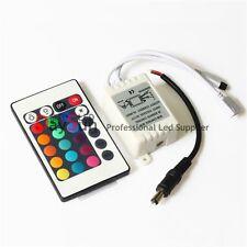 24 Keys RGB Controler LED Lights DC12V 6A For RGB SMD 3528 5050 LED Strip