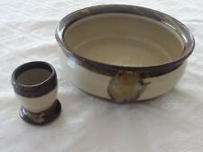 Gembrook Pottery, Retro Australian Ceramic, Vase and Egg Cup