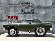 Muscle Machines '63 Plymouth Savoy Green 1:18 Scale Diecast 1963 Model Car 71166