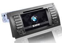 AUTORADIO GPS 2DIN BMW E39 E53 X5 USB SD DVX MP3 INTERNET 3G NO DOGANA