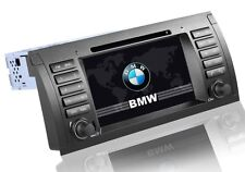 AUTORADIO GPS 2DIN BMW E39 E53 X5 USB SD DVX MP3 INTERNET 3G NO DOGANA