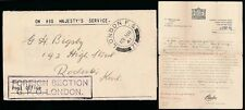 AIRMAIL REGISTERED WW2 1941 SOUTH AFRICA SERVICE SUPPLEMENT + P.DUE GPO OFFICIAL
