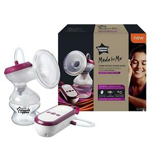 Tommee Tippee Made for Me Single Electric Breast Pump, Cordless USB Rechargeable